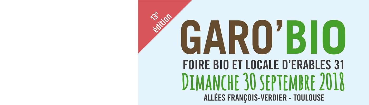 DévelGreen sera présent à Garo Bio à Toulouse : Dimanche 30 septembre 2018