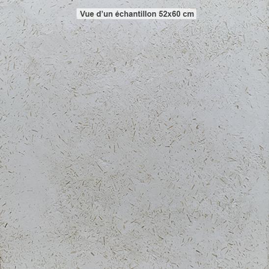 Enduit chaux blanche chanvre taloché serré - DévelGreen